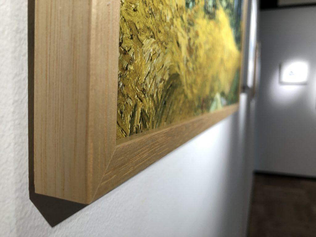 美しい木製フレーム